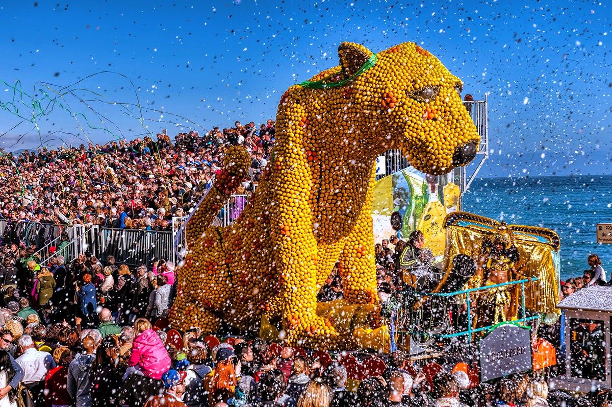 Lemon Festival in French Riviera